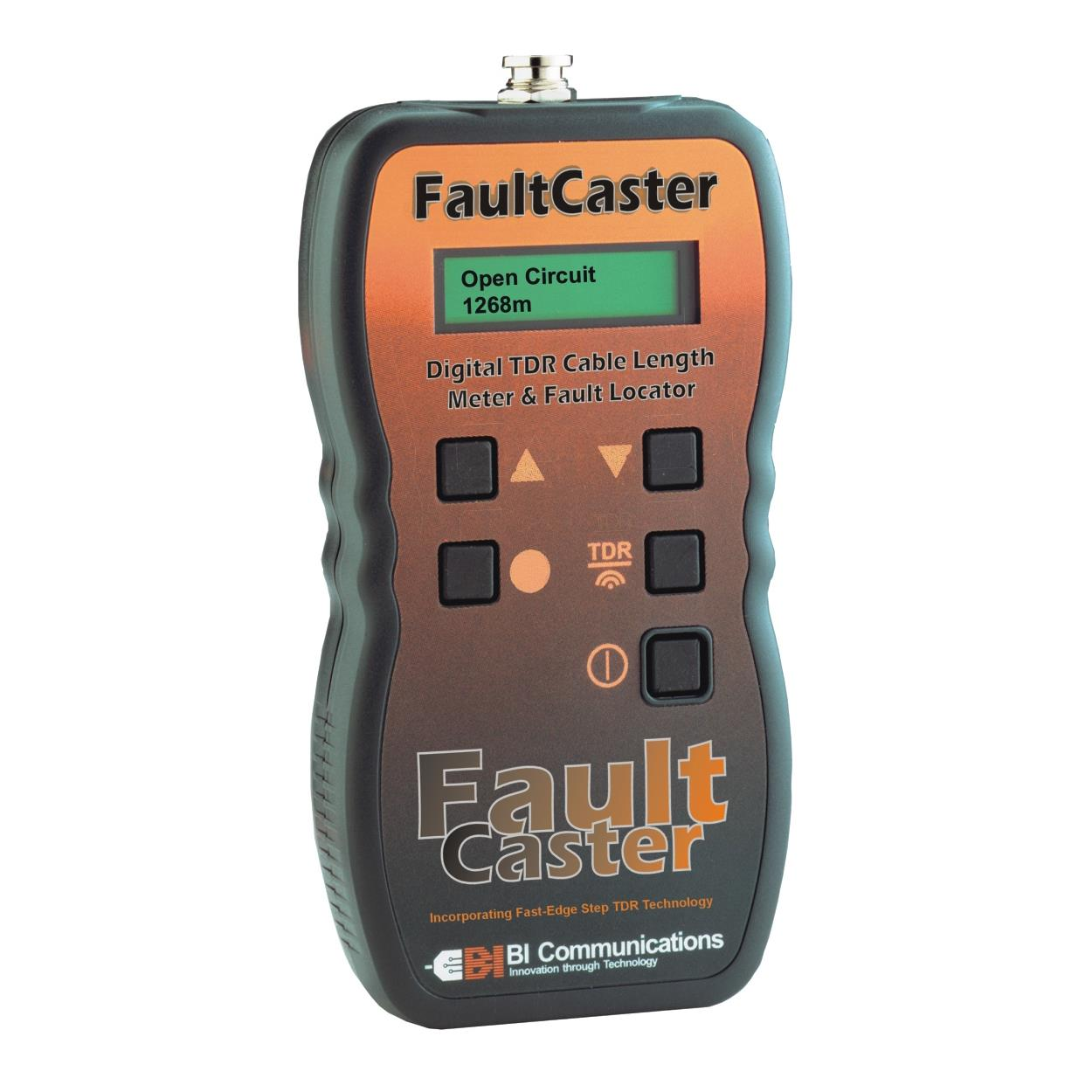 Cable Fault Locator : Bi communications faultcaster digital tdr cable fault locator