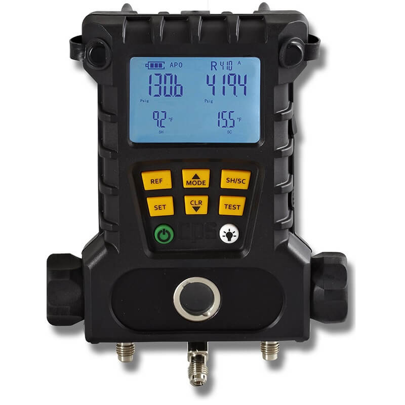 CPS MD50W BlackMax 2-Valve Wireless Digital Manifold with 2 Temperature Probes
