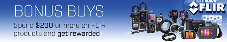 Flir Bonus Buys Promotion Q2 2018
