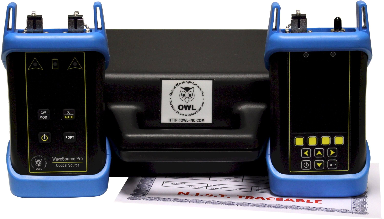 OWL KF21+MS Quad Source Fiber Certifier with OTDR   ValueTesters.com