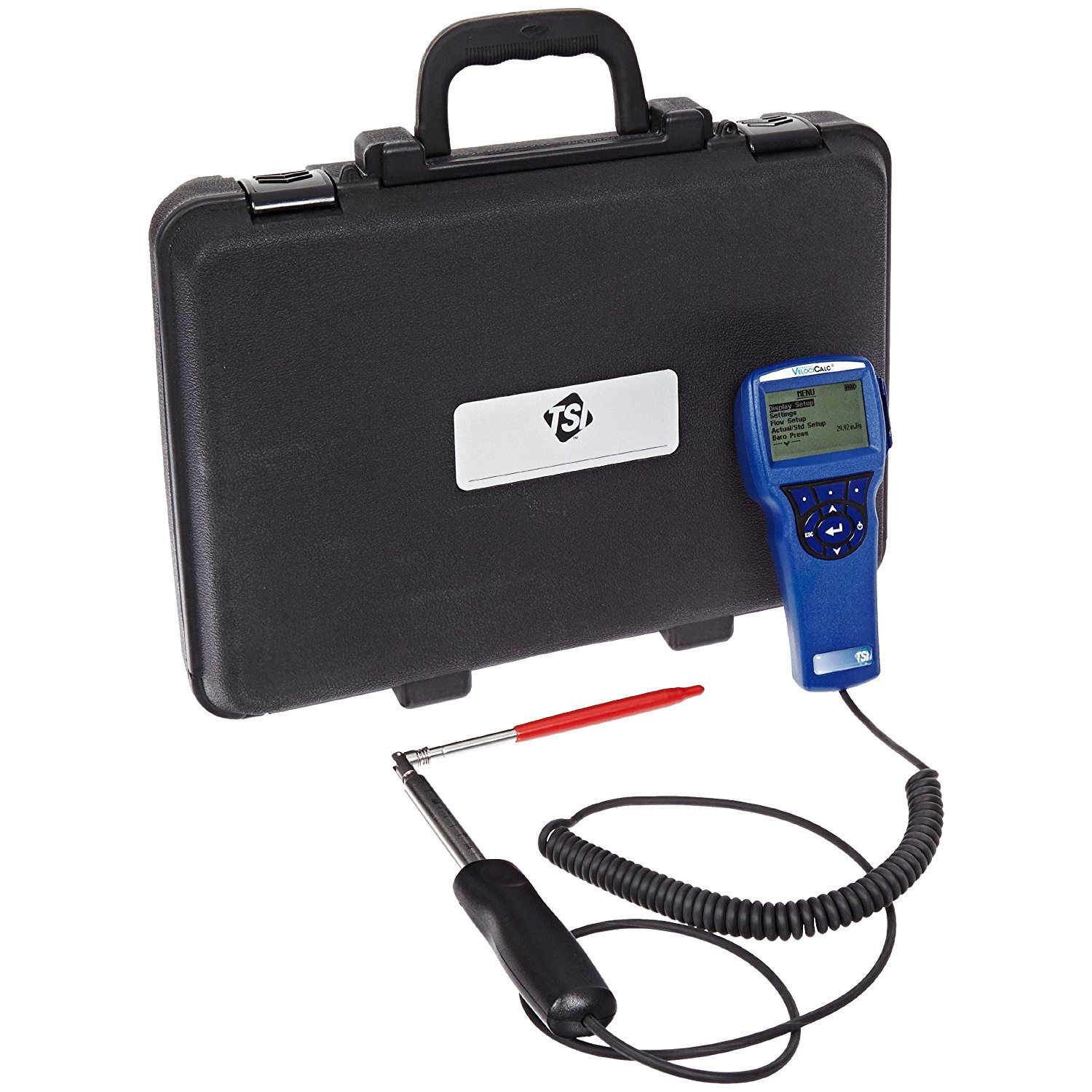 TSI 9535-A Velocicalc Digital Air Velocity Meter with Articulated Probe