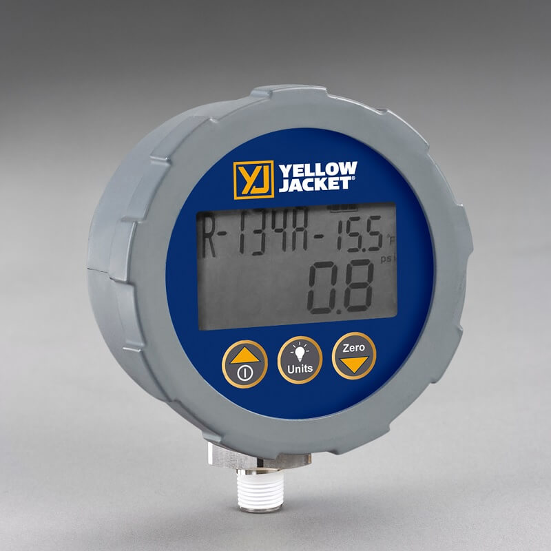 Yellow Jacket 49017 Replacement Gauge | ValueTesters com