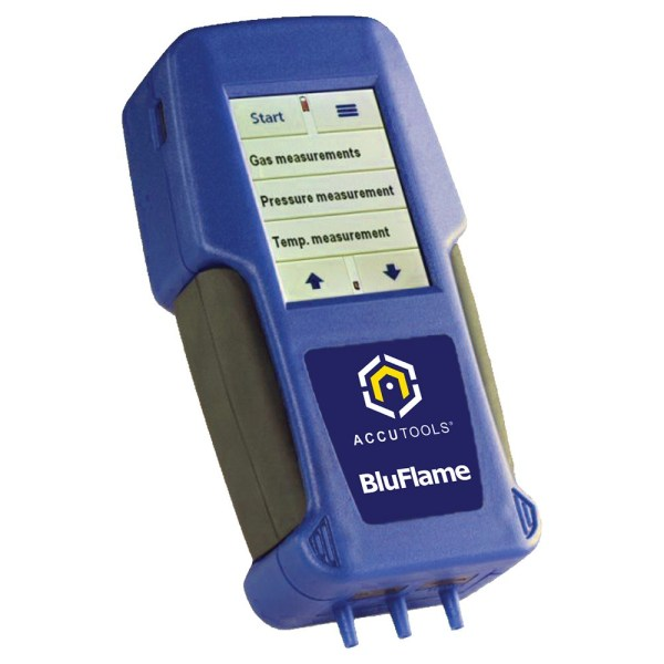 AccuTools BluFlame Combustion Analyzer A10773 with BlueTooth and Touch Screen