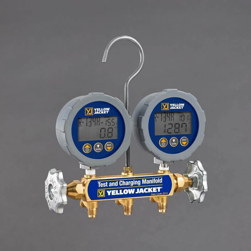 Yellow Jacket 46060 Analog Gauge