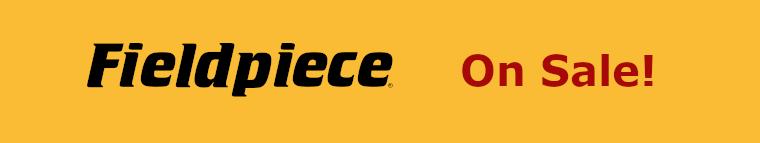Fieldpiece HVAC Tools on Sale
