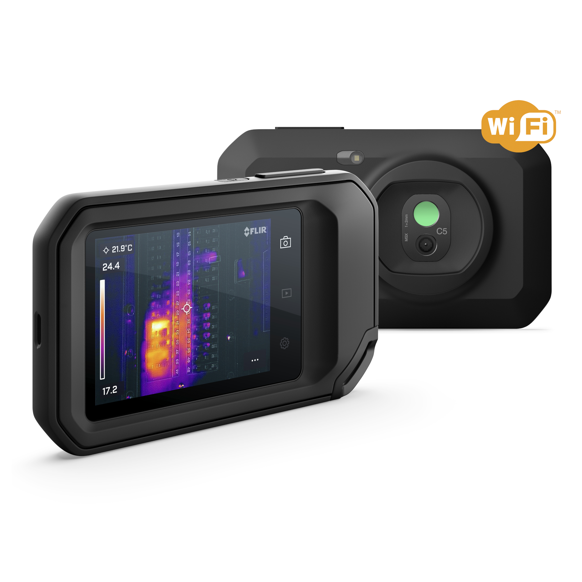 Flir C5 Compact Thermal Camera with WiFi Cloud Connectivity