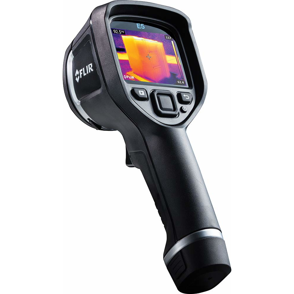 Factory Refurbished with Complete Warranty - Flir E5-XT Infrared Camera plus Extended Temperature MSX WiFi - Factory Refurbished with Complete Warranty