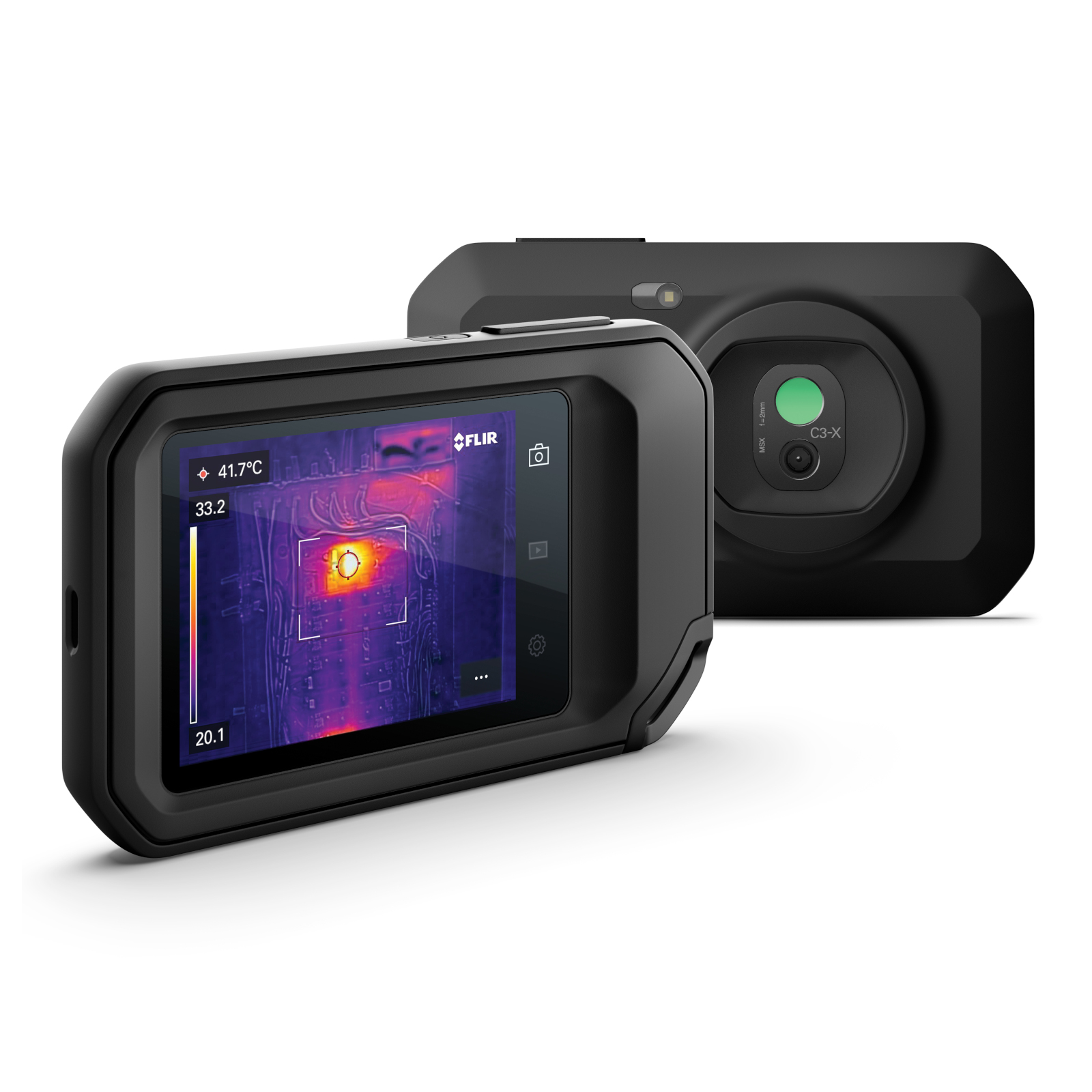 Flir C3-X Compact Thermal Camera with WiFi Resolution 128x96