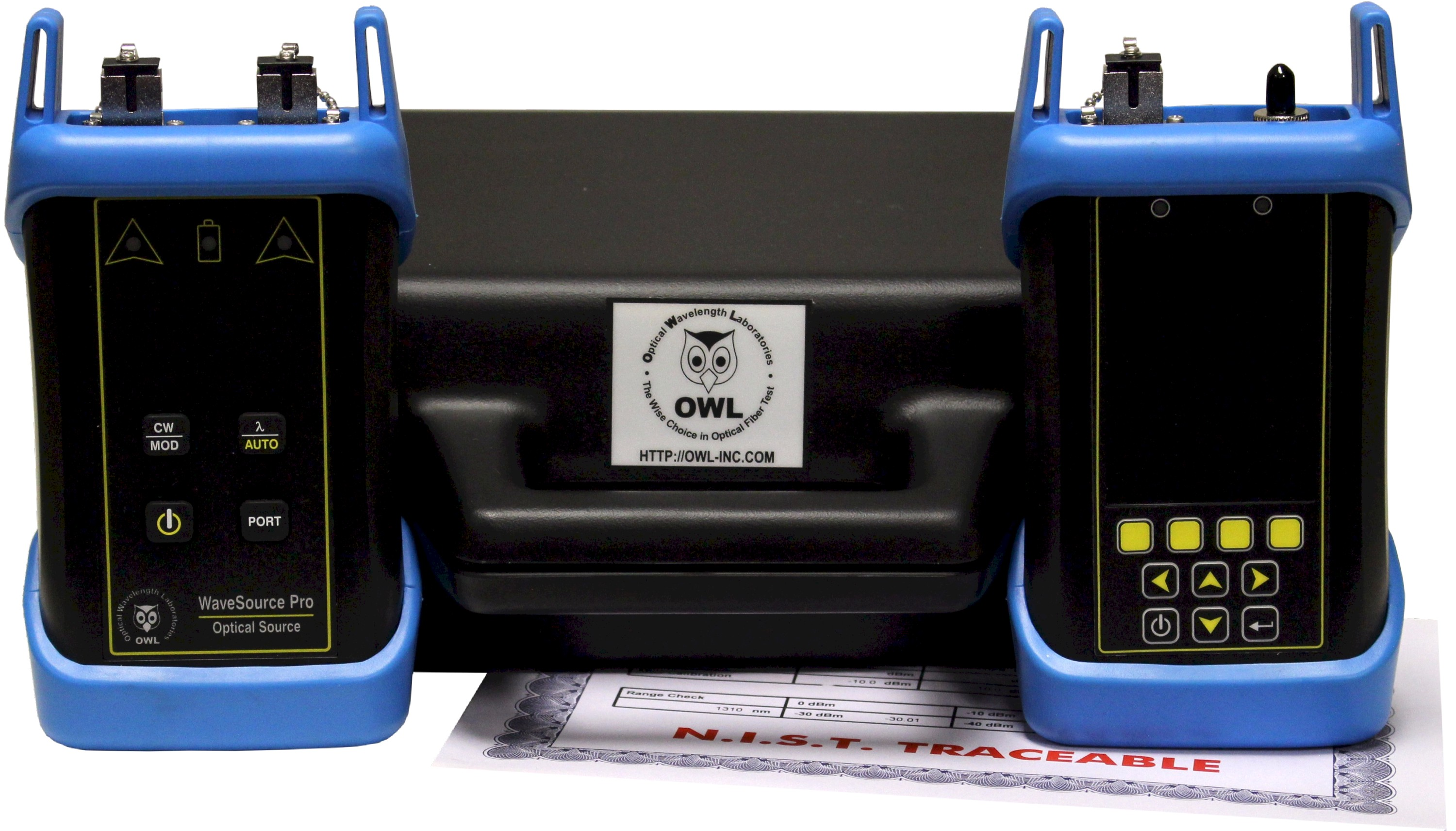 OWL F7+M Multimode Fiber Certifier with OTDR