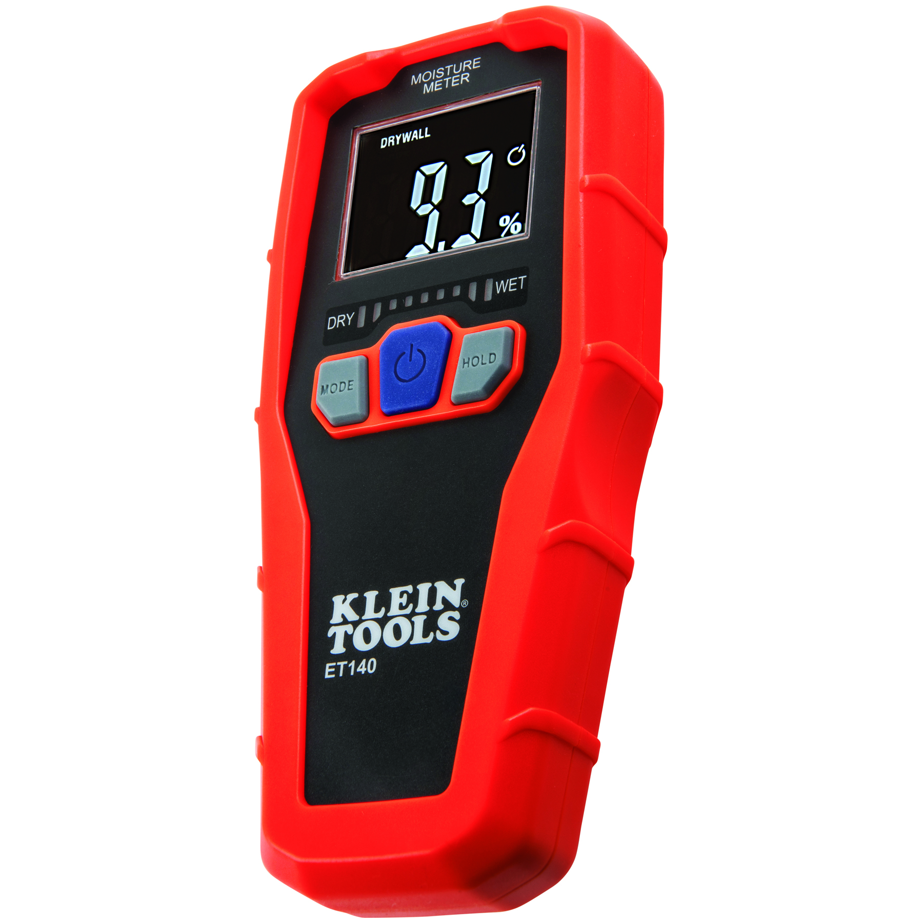 Klein Tools ET140 Pinless Non-Contact Moisture Meter for Building Materials