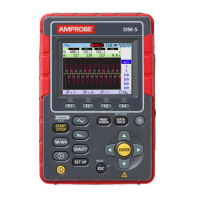 Amprobe Power Quality Analyzer Recorder