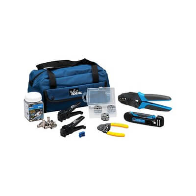Ideal Network Cable Tool Kit