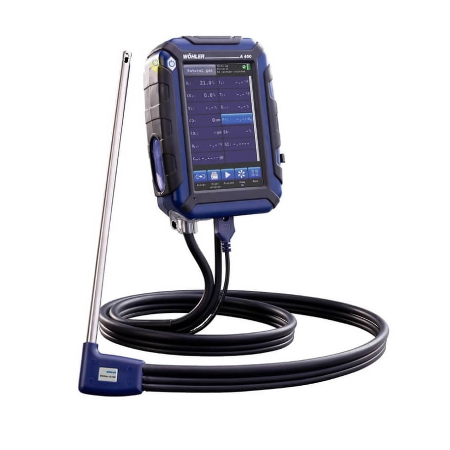 Wohler Combustion Analzers