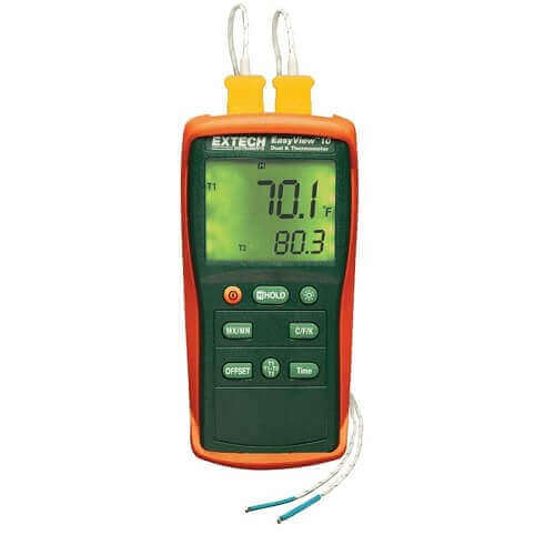Thermometer With Probe