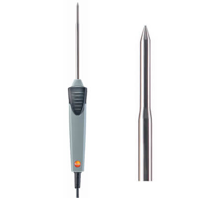 Testo 0614 1212 Waterproof Immersion Penetration Probe NTC