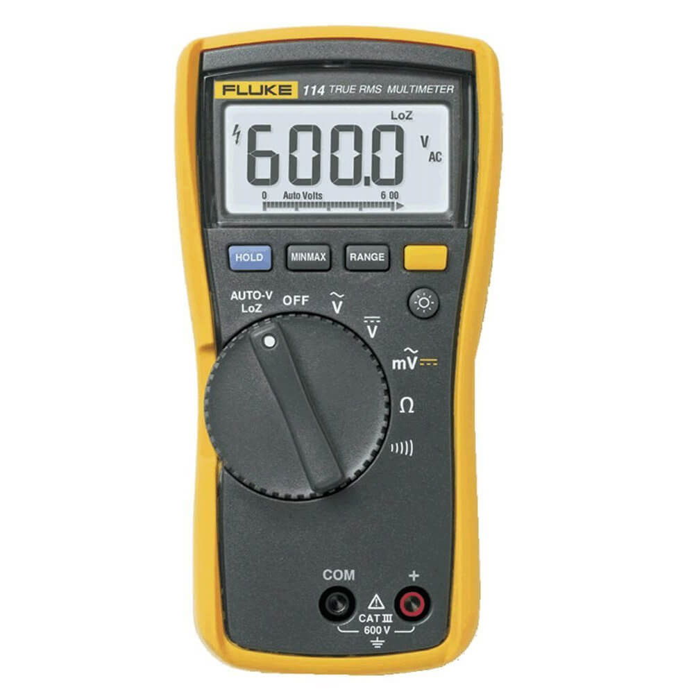 Fluke 114 TRMS Digital Electrical Multimeter