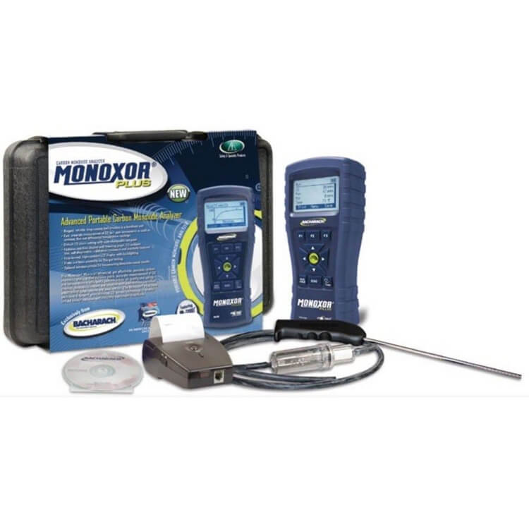 Bacharach 19-8118 Monoxor Plus Professional CO Analyzer Kit (Free 2nd Day Shipping)