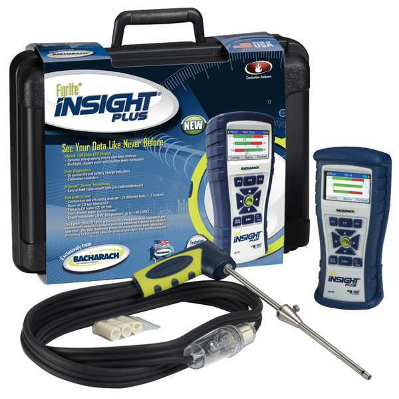 Bacharach 24-8517 Fyrite Insight Plus Combustion Analyzer Basic Kit LL [Free 2nd Shipping]