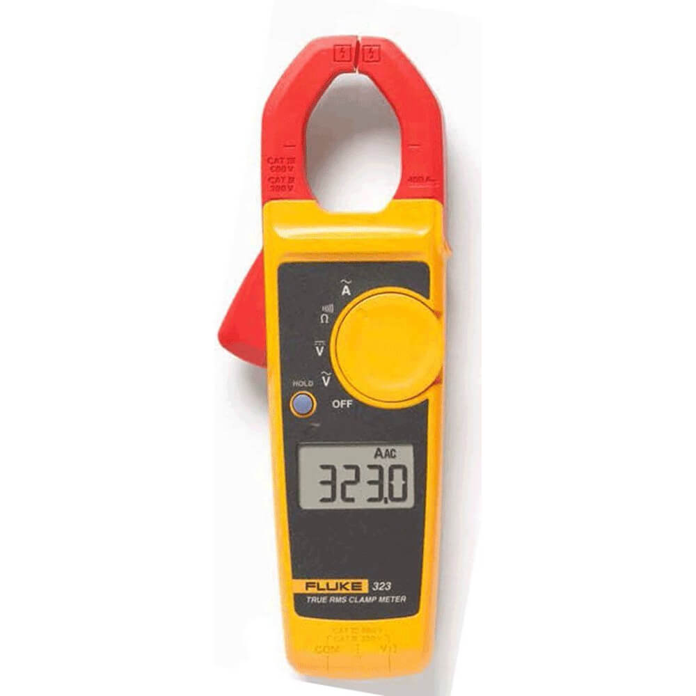 Fluke 323 TRMS 400A General Clamp Meter