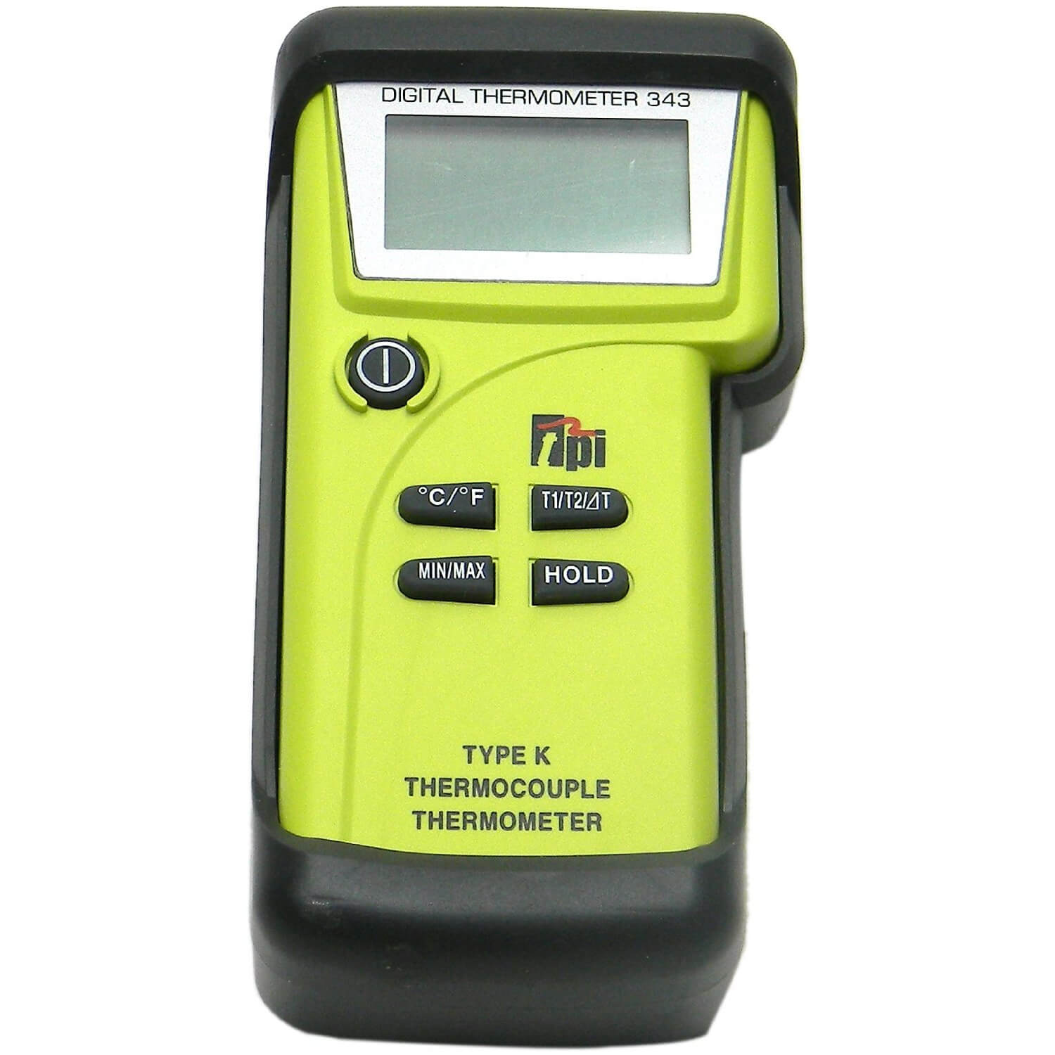 TPI 343C3 Digital Thermometer with Dual Input K-Type Thermocouple