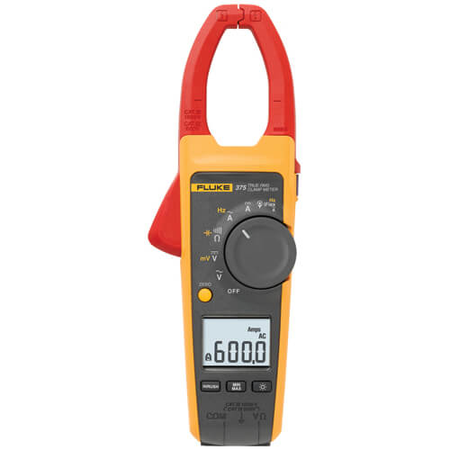 Fluke 375 TRMS 600A Advanced AC DC Clamp Meter