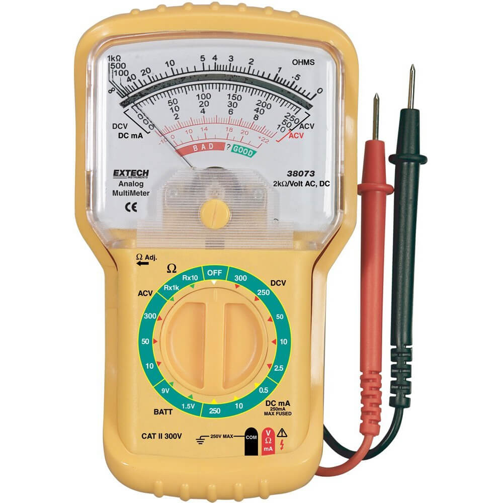 Extech 38073 Analog Miniature Multimeter
