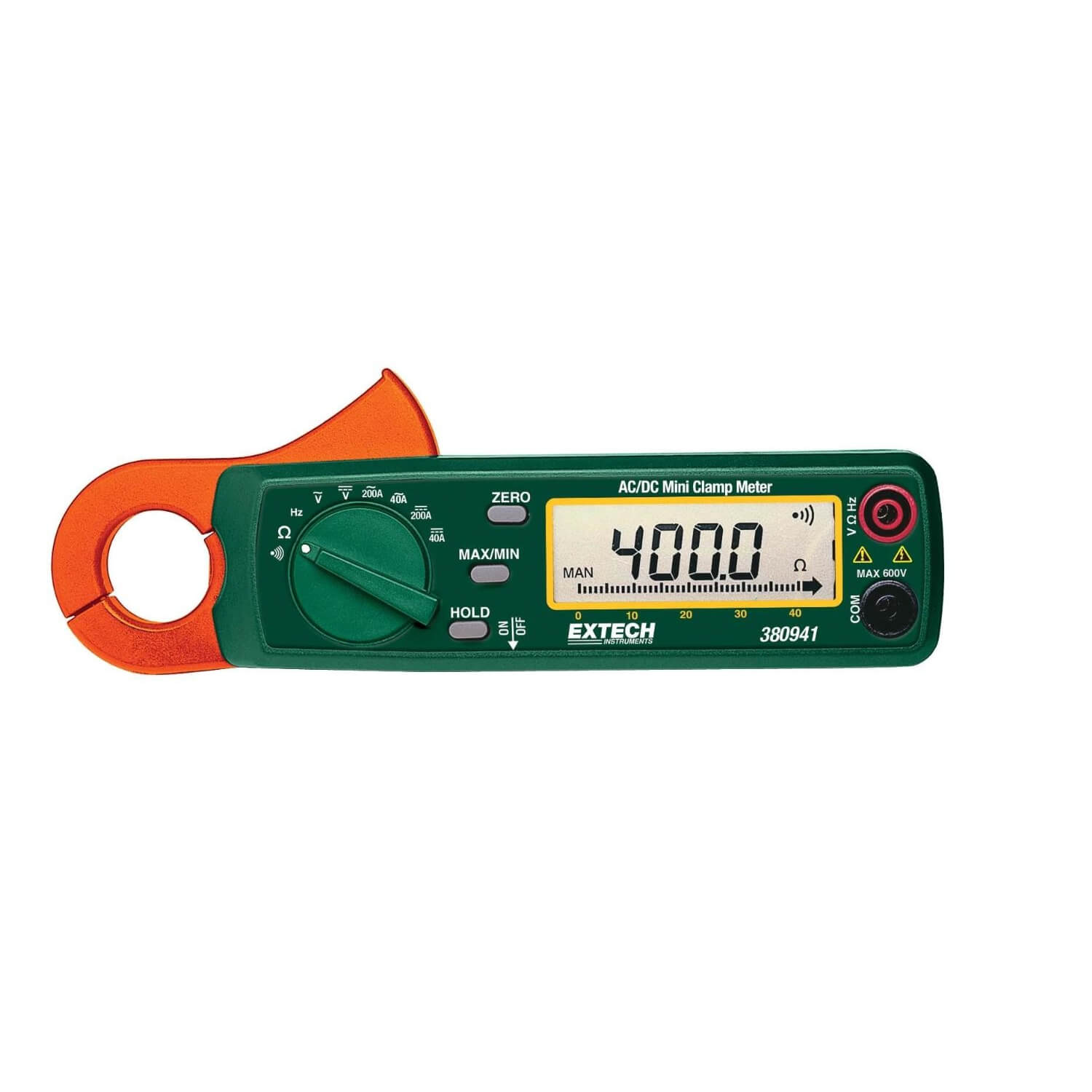 Extech 380941 Miniature 200A Clamp Meter