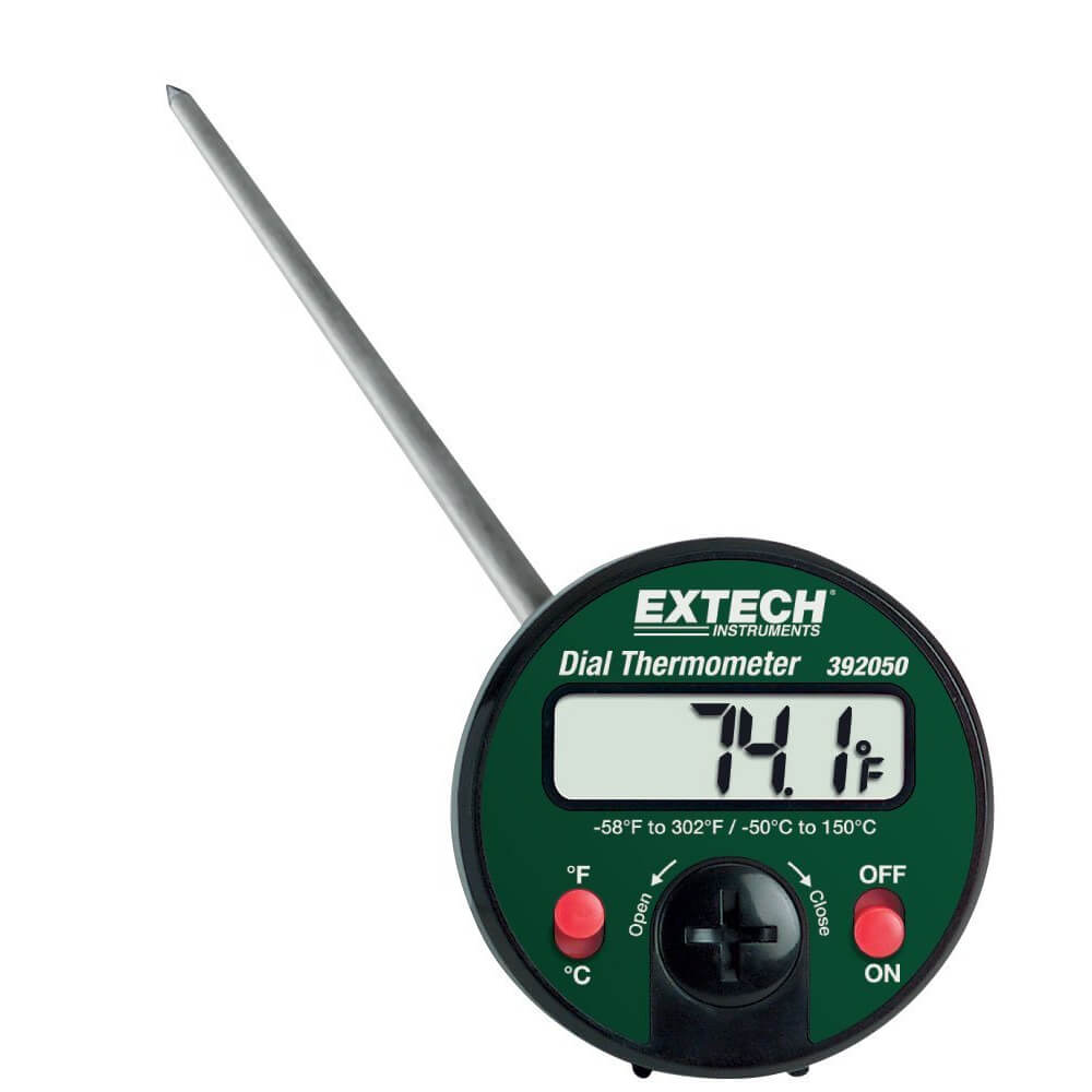 Extech 392050 Stem Dial Thermometer
