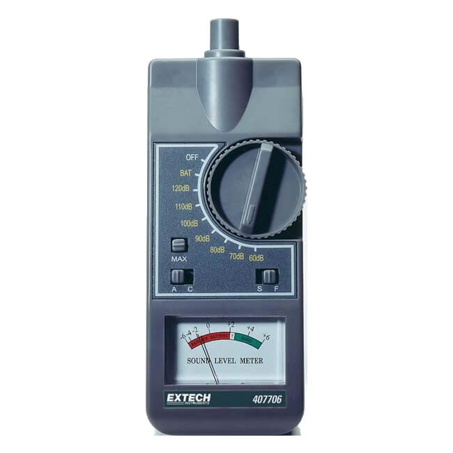 Extech 407706 Handheld Analog Sound Level Meter