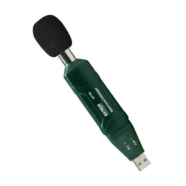 Extech 407760 USB Sound Level Meter with Datalogging
