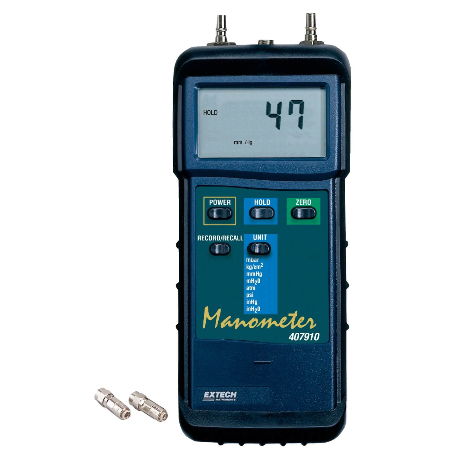 Extech 407910 Heavy Duty Digital Differential Pressure Manometer