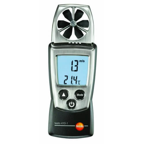 Testo 410-1 Digital Vane Anemometer Pocket-Size