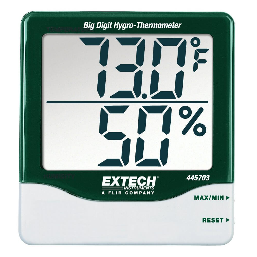 Extech 445703 Hygro-Thermometer with RH Indicator