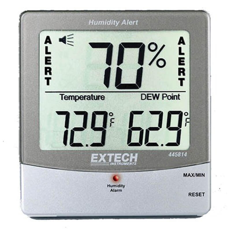Extech 445814 Electronic Thermometer Hygrometer