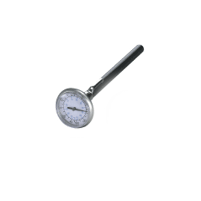 Mastercool 52161 Analog Pocket Thermometer 1.375in Dial