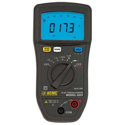 AEMC 5231 Standard Digital Multimeter