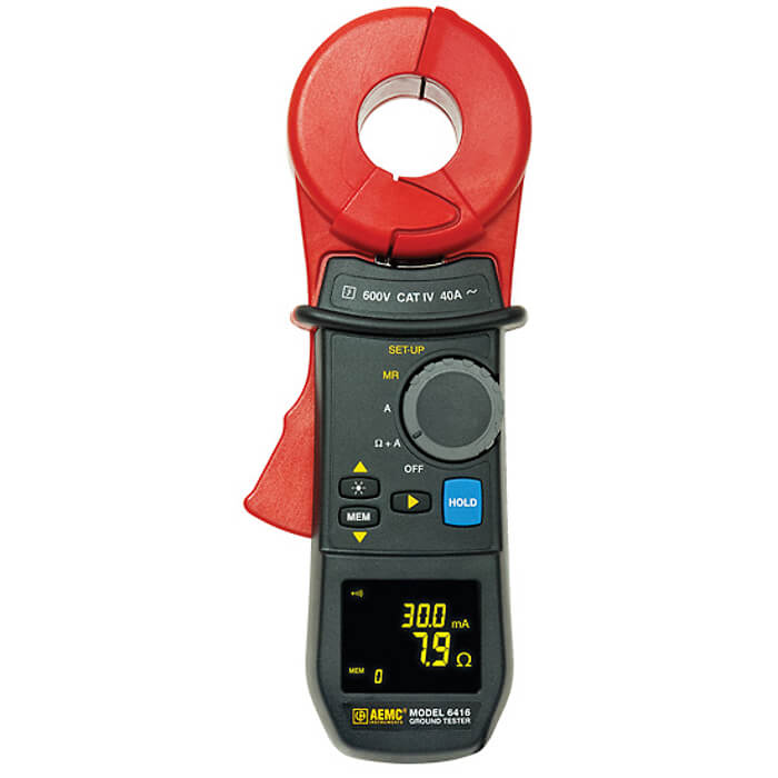 AEMC 6416 Clamp-On Ground Resistance Meter (Free 2nd Day Shipping)