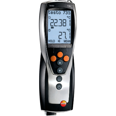 Testo 735-1 Thermometer Three Channel