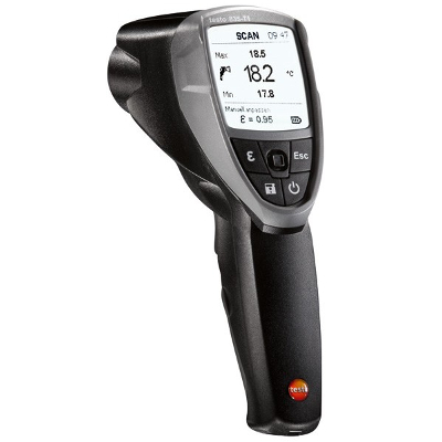 Testo 835-T2 Infrared Thermometer with 4 Point Laser High Temperature