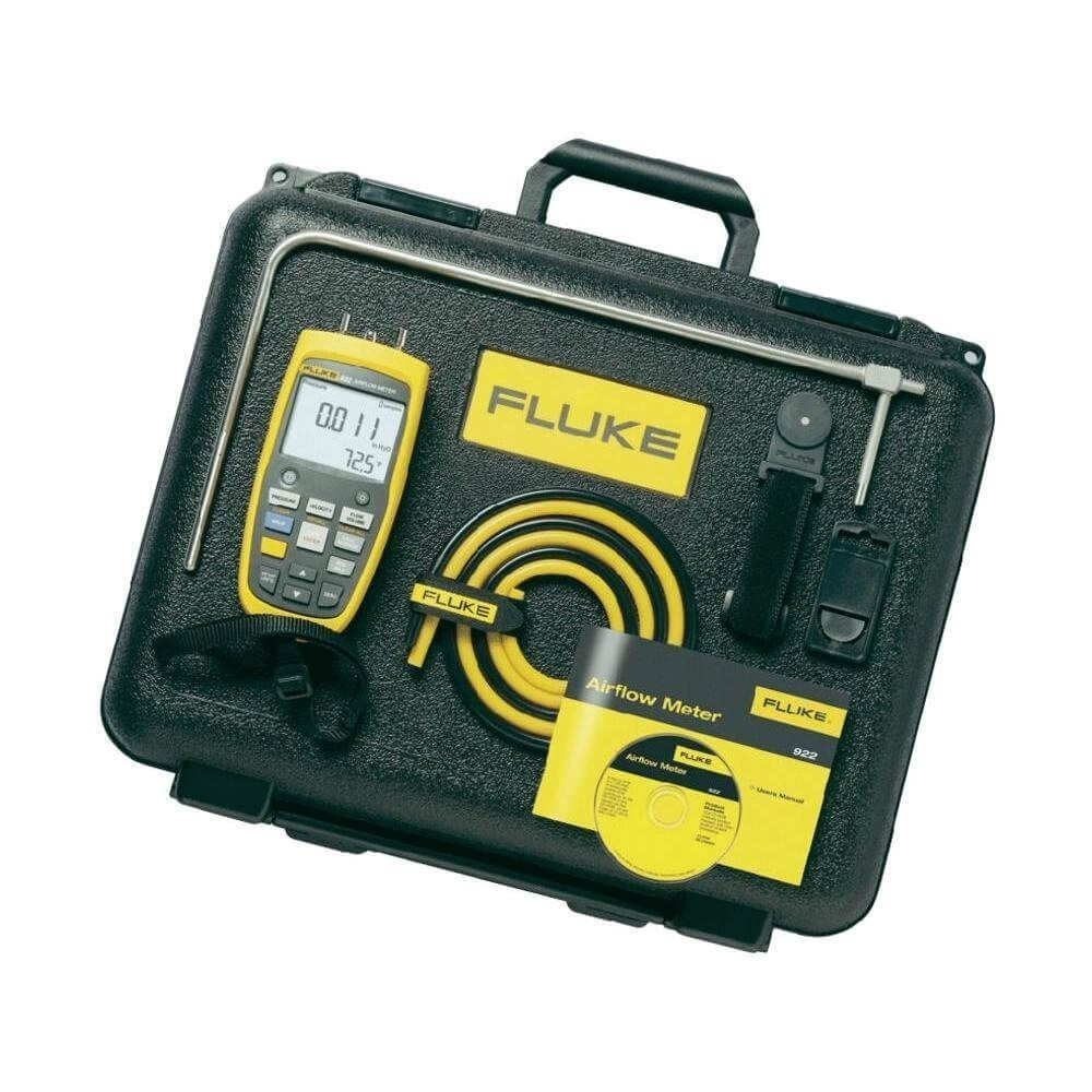 Fluke 922-KIT Digital Airflow and Pressure Meter Kit