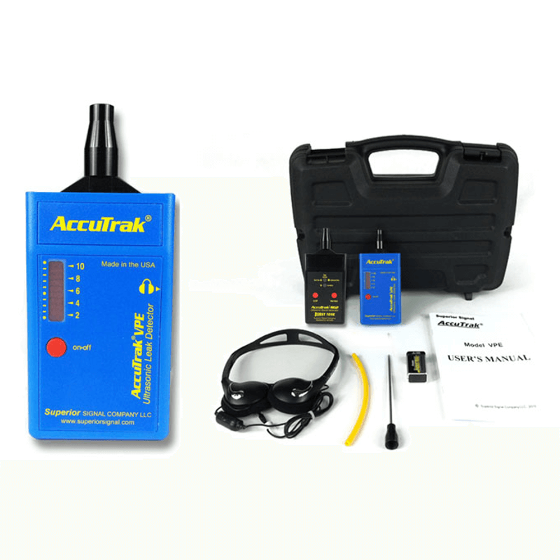 Superior AccuTrak VPE Plus Ultrasonic Leak Detector Kit