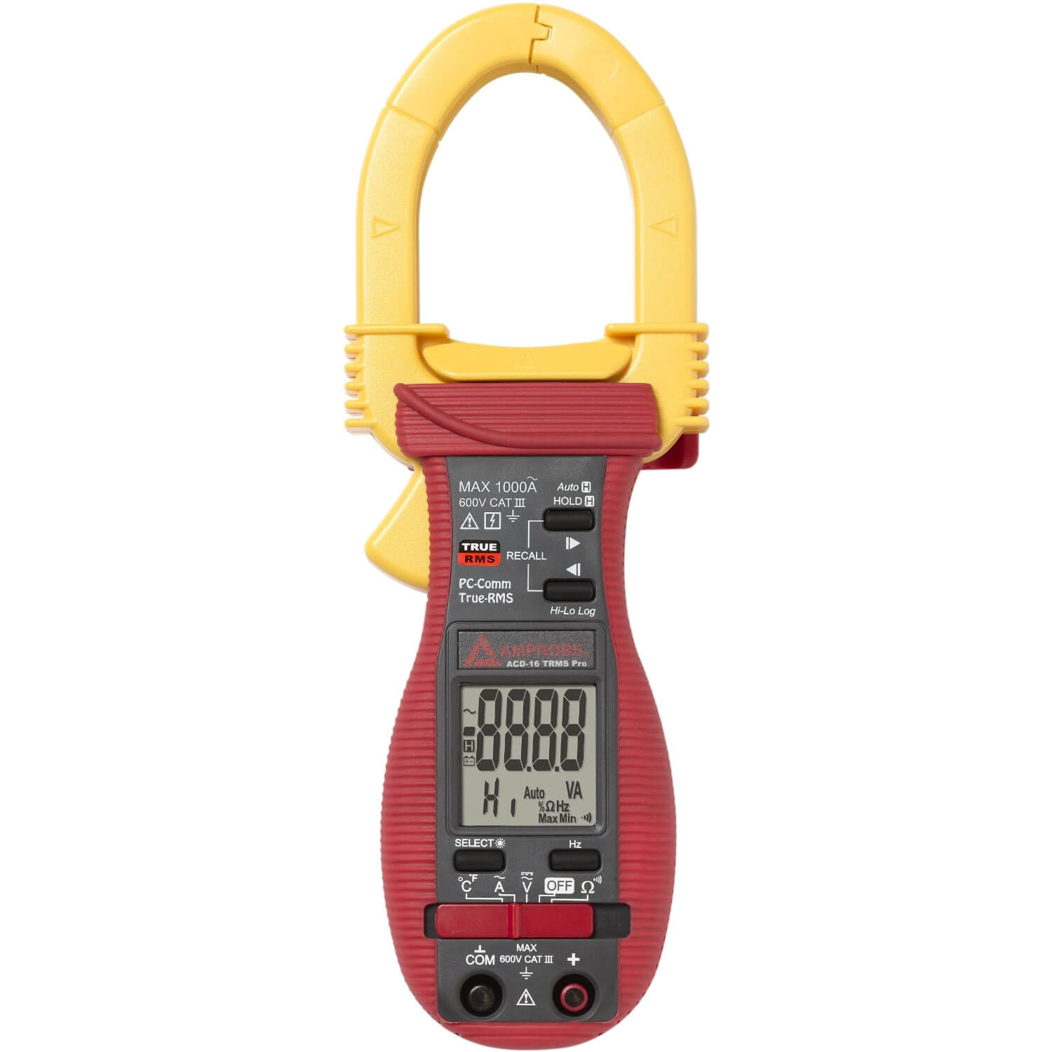 Amprobe ACD-16 TRMS Pro Clamp Multimeter with Datalogging