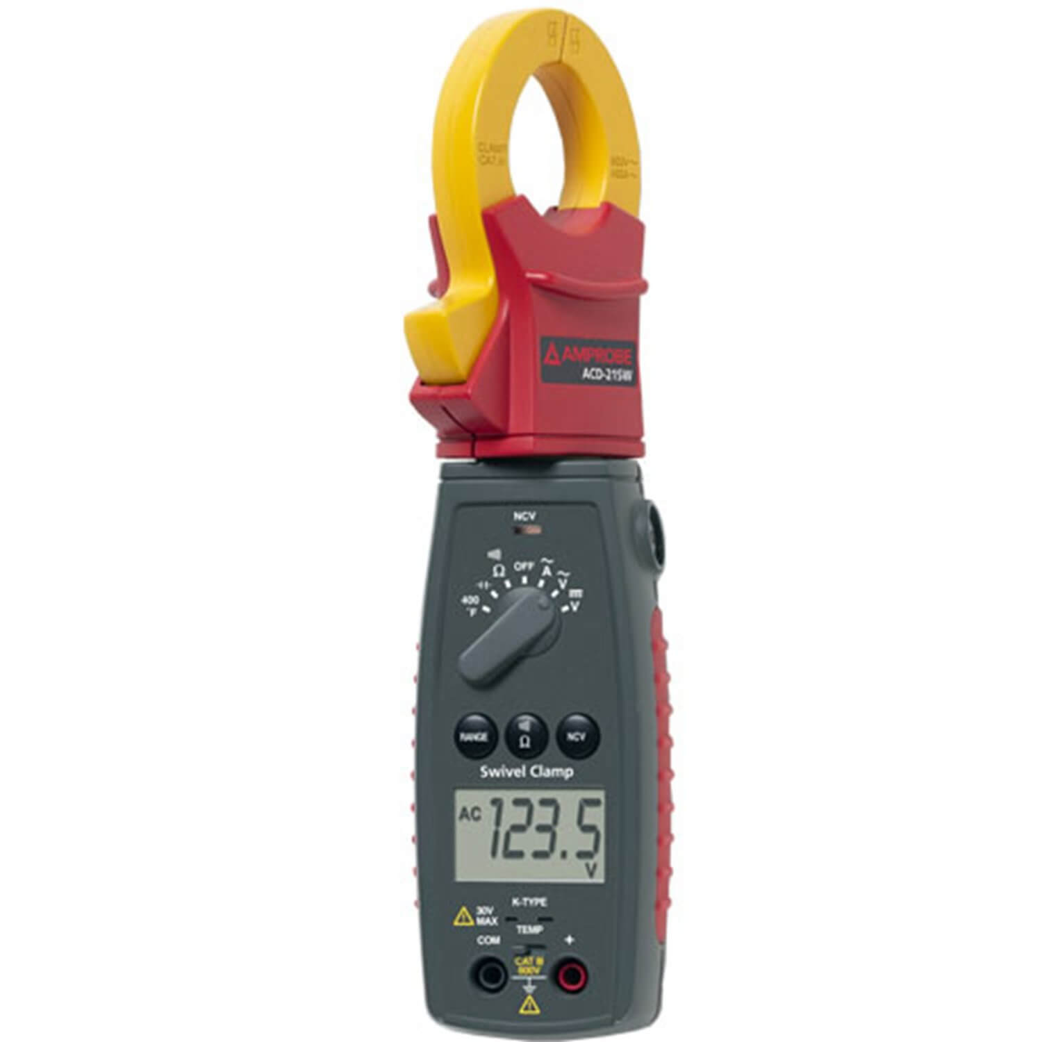 Amprobe ACD-21SW Swivel Head Clamp Meter 400A