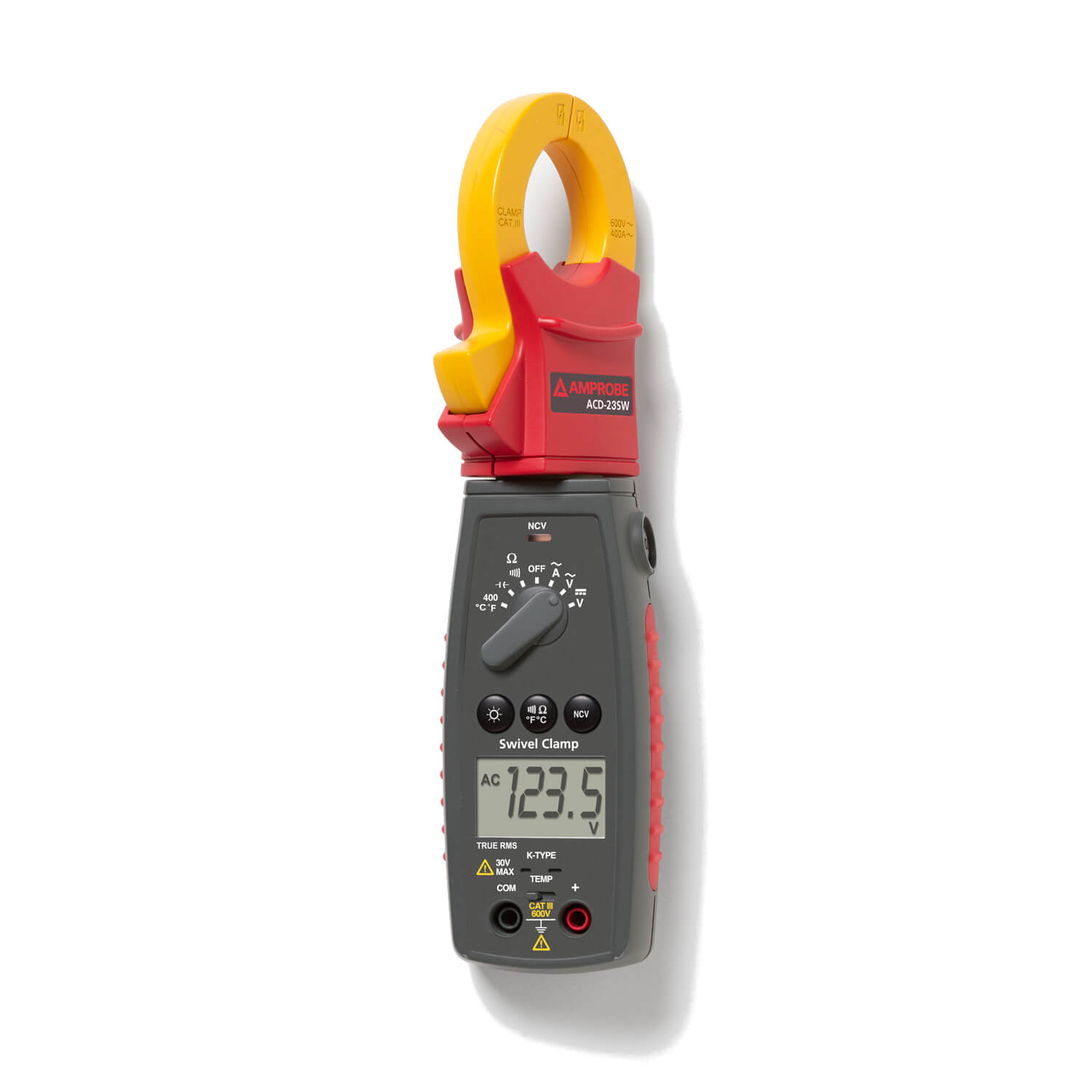 Amprobe ACD-23SW TRMS Swivel Head Clamp Meter 400A