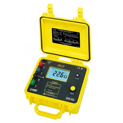 AEMC 4630 4-Point Digital Ground Resistance Meter