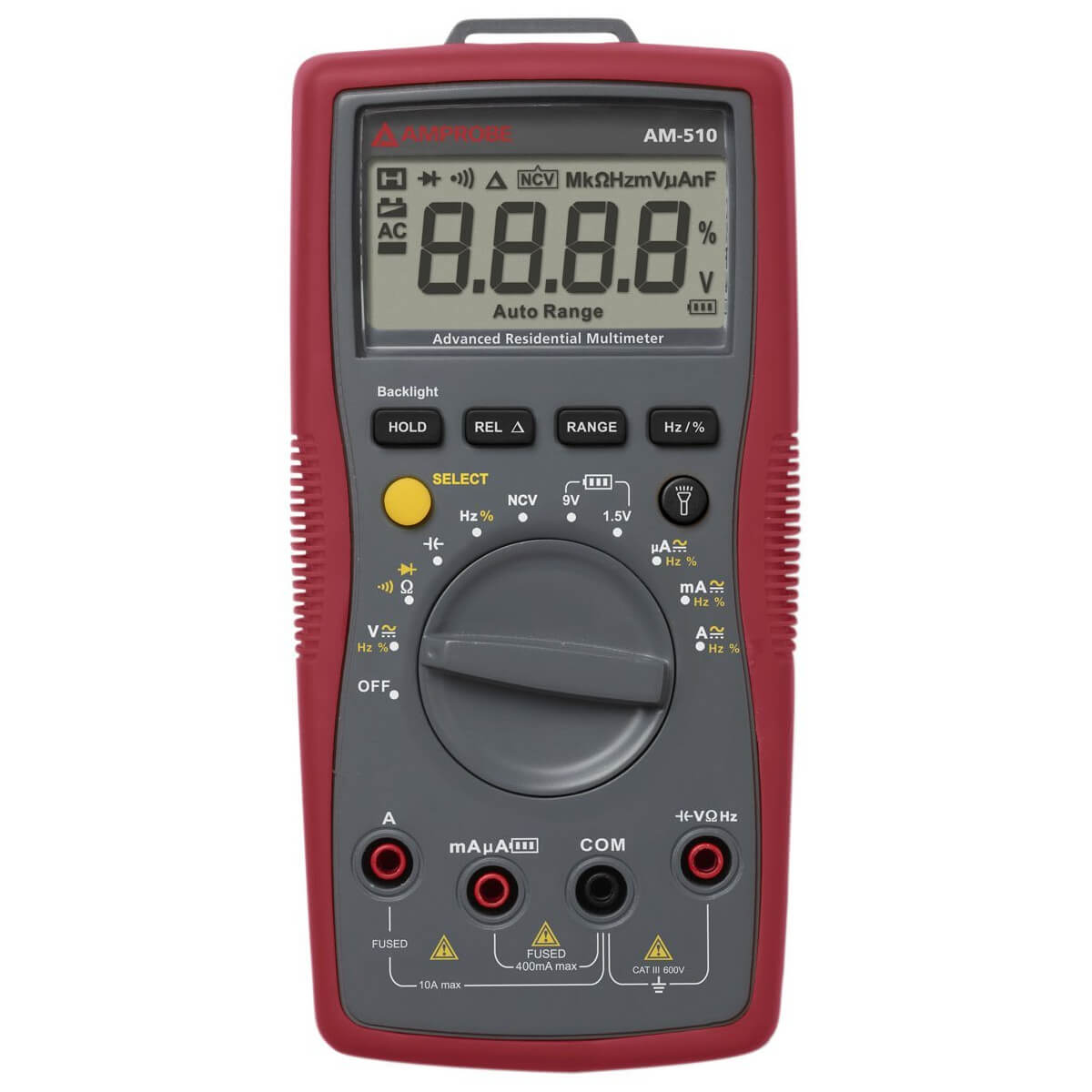 Amprobe AM-510 Multimeter Residential and Commercial