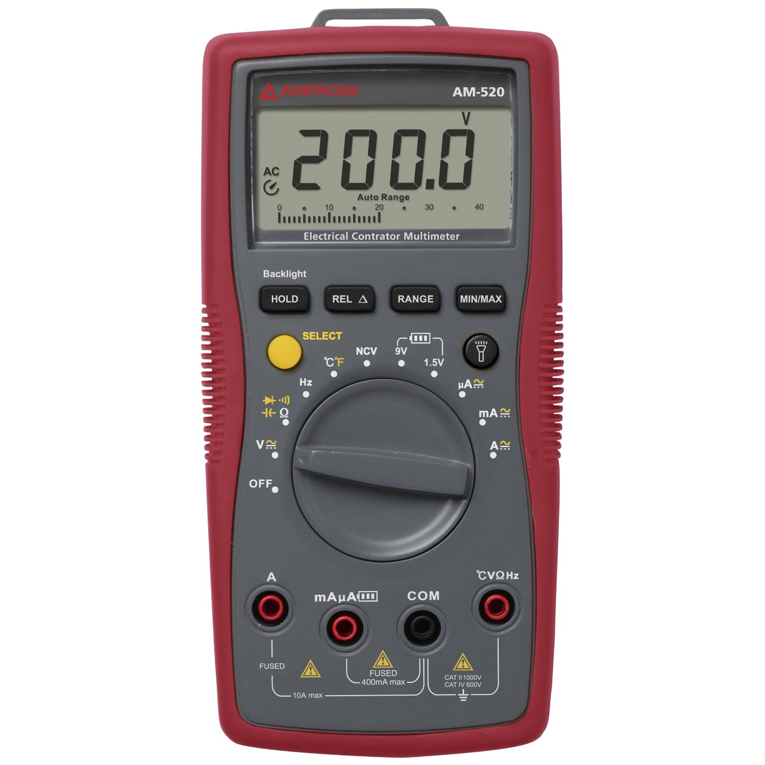 Amprobe AM-520 Advanced HVAC Digital Multimeter with NCV