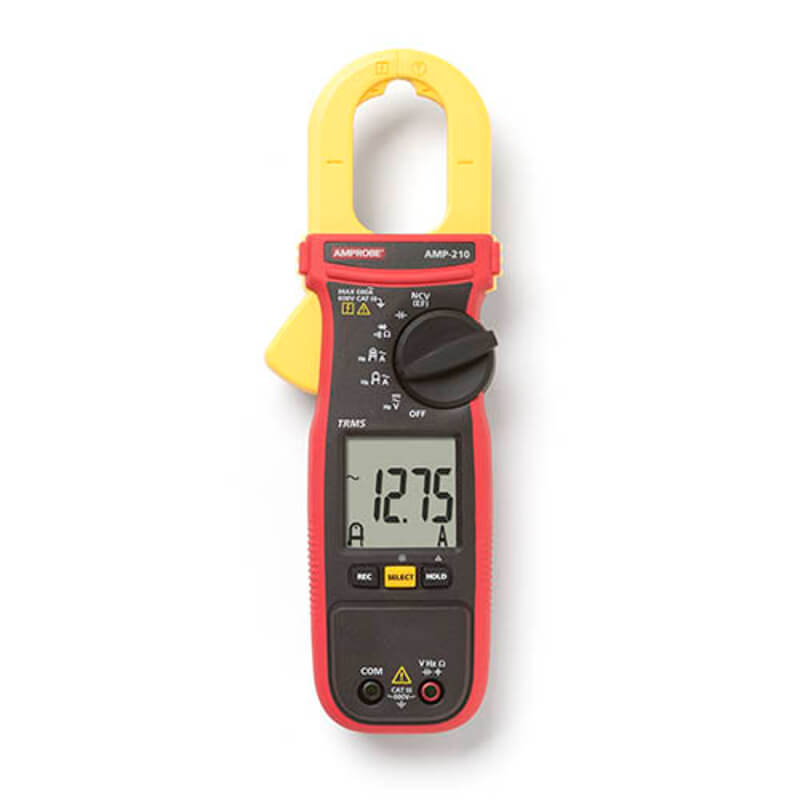 Amprobe AMP-210 TRMS Clamp Meter for Electrical Technicians