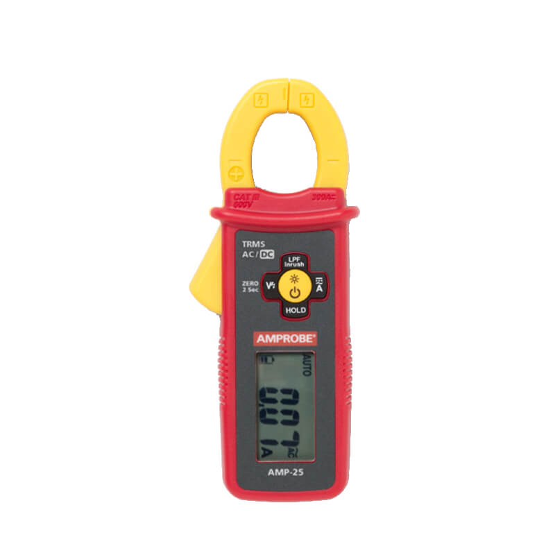 Amprobe AMP-25 TRMS Mini Clamp Meter Pocket Size
