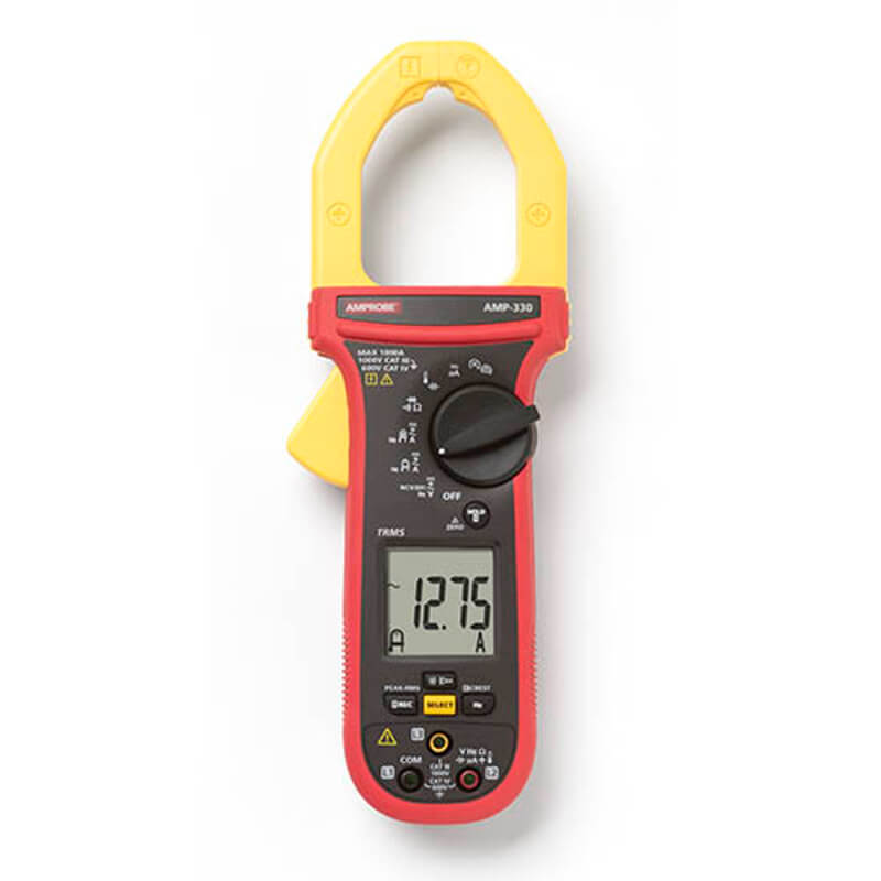 Amprobe AMP-330 TRMS Clamp Meter for Motor Maintenance Technicians